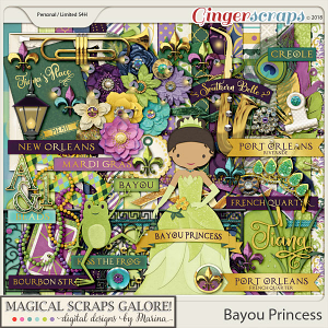 Bayou Princess (page kit)