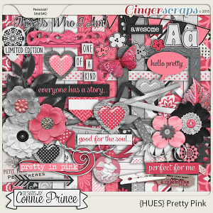 {HUES} Pretty Pink - Kit