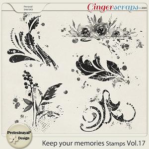 Keep your memories Stamps Vol.17