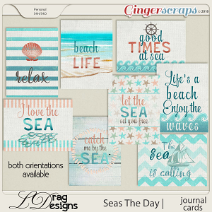Seas The Day: Journal Cards by LDrag Designs
