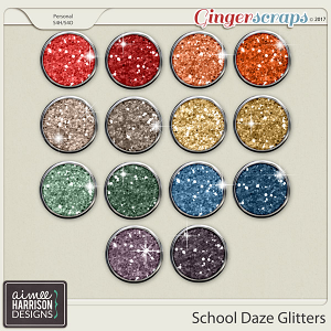 School Daze Glitters by Aimee Harrison