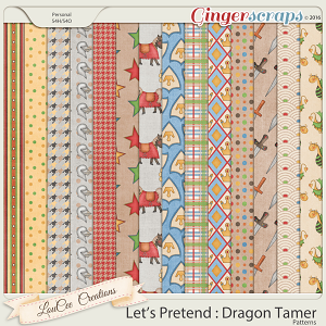Let's Pretend : Dragon Tamer Patterns