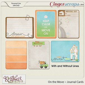 On the Move Journal Cards
