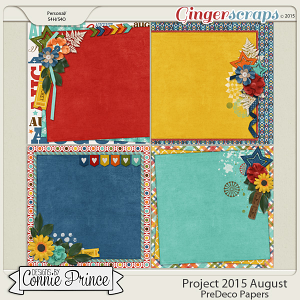 Project 2015 August - PreDeco Papers