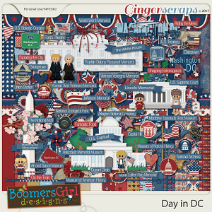 Day in DC by BoomersGirl Designs