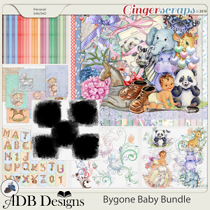 Bygone Baby Bundle by ADB Designs