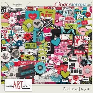Rad Love Page Kit