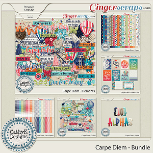 Carpe Diem - Bundle by CathyK Designs