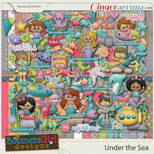 Under the Sea by BoomersGirl Designs