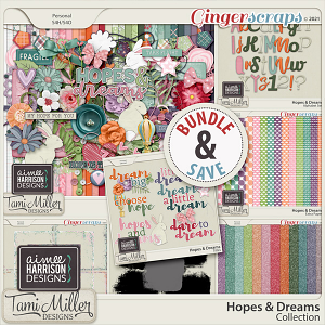 Hopes and Dreams Collection by Aimee Harrison and Tami Miller Designs