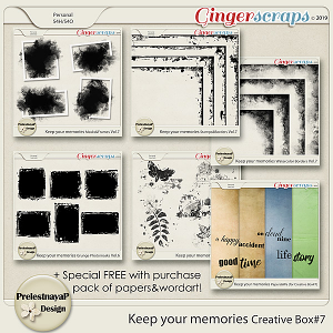 Keep your memories Creative Box #7