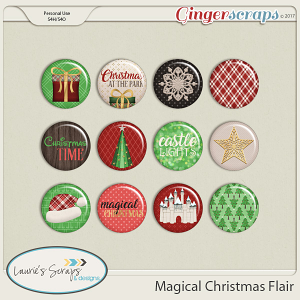 Magical Christmas Flairs
