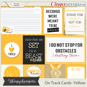 On Track- Yellow Cards