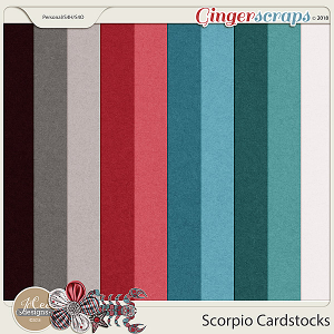 Scorpio Cardstocks by JoCee Designs
