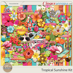 Tropical Sunshine Kit by JoCee Designs