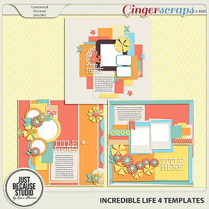 Incredible Life 4 Templates By JB Studio