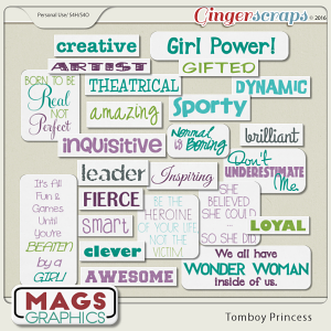 Tomboy Princess TAGS