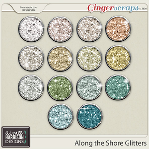 Along the Shore Glitters by Aimee Harrison