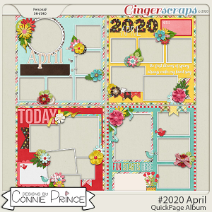 #2020 April - Quick Pages by Connie Prince