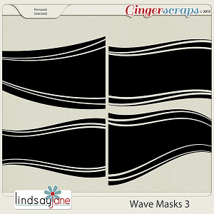 Wave Masks 3 by Lindsay Jane