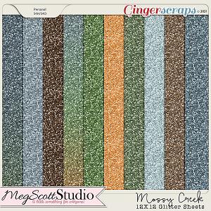 Mossy Creek Glitter Sheets