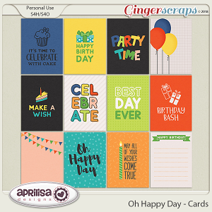 Oh Happy Day - Cards