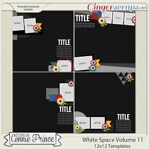 White Space Volume 11 - 12x12 Temps (CU Ok)