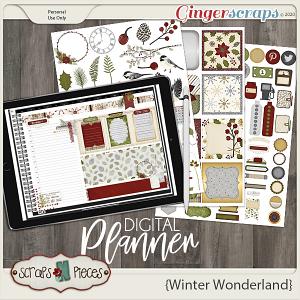 Winter Wonderland Planner Pieces - Scraps N Pieces