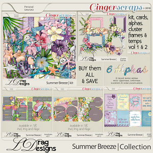Summer Breeze: The Collection by LDragDesigns