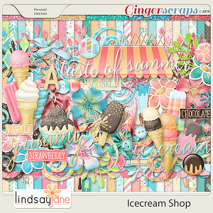 Icecream Shop by Lindsay Jane