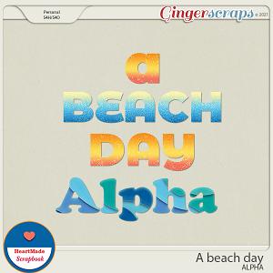 A beach day - alpha