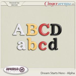 Dream Starts Here - Alpha