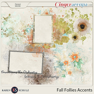 Fall Follies Accents by Snickerdoodle Designs