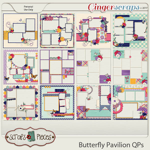 Butterfly Pavilion Quick Pages
