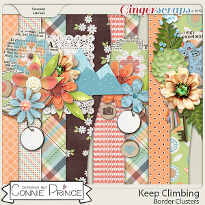 Keep Climbing - Border Clusters by Connie Prince