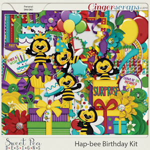 Hap-Bee Birthday Kit
