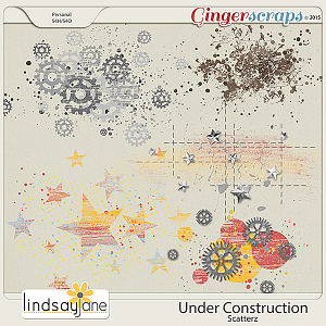 Under Construction Scatterz by Lindsay Jane