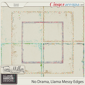 No Drama Llama Edges by Tami Miller Designs