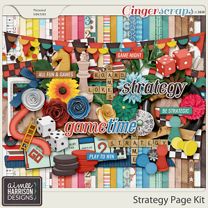 Strategy Page Kit by Aimee Harrison