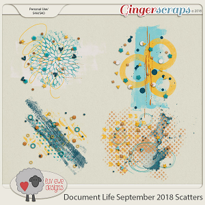 Document Life September 2018 Scatters by Luv Ewe Designs