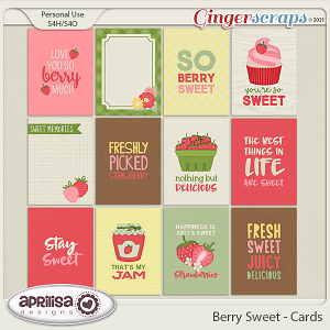Berry Sweet - Cards by Aprilisa Designs