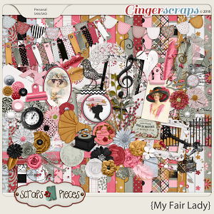 My Fair Lady by Scraps N Pieces
