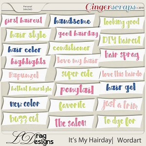 It's My Hairday: Wordart by LDragDesigns