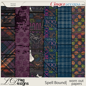 Spellbound: Worn Out Papers by LDragDesigns