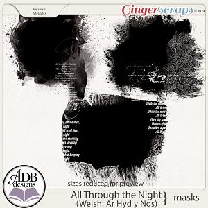 All Through The Night Photo Masks by ADB Designs