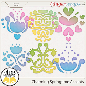 Charming Springtime Accents by ADB Designs