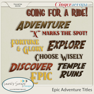 Epic Adventure Titles