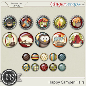 Happy Camper Flairs