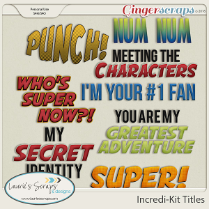 Incredi-Kit Titles