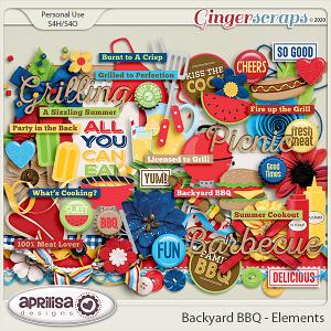 Backyard BBQ - Elements by Aprilisa Designs
